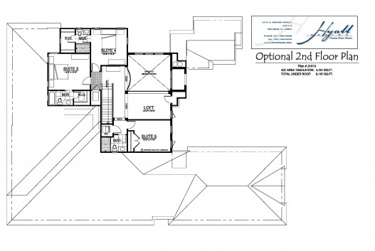 21013 Optional 2nd Flr Plan