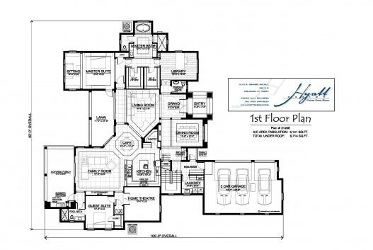 21206 1st flr Plan