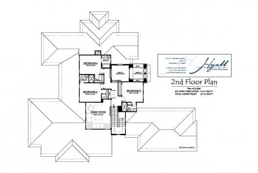 21206 2nd Flr Plan
